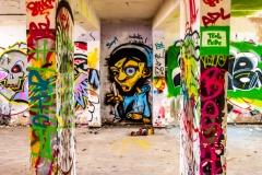 Graffiti Lokschuppen Rheine 1
