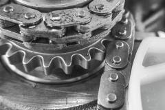 Details-Motor-Kettentrieb